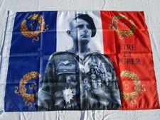 """Drapeau GENERAL BIGEARD PARAS ETRE ET DURER 60 x 90 cm Flag Banner 2"""" X 3"""""""