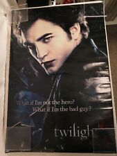 "Edward Cullen Twilight ""What if I'm not the hero?"" Poster 24x36 Robert Pattinson"
