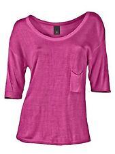 J2186 B.C. BEST CONNECTIONS Damen Kurz Pullover Oversize Feinstrick (38, Pink)