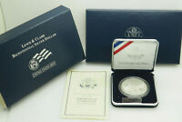 2004 US Mint Lewis and Clark Bicentennial Proof Silver Coin w/Box & COA