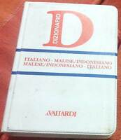 Italiano-malese/indonesiano, malese/indonesiano-italiano - nuovo in offerta !