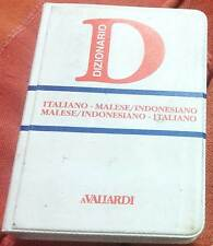 Italiano-malese/indonesiano, malese/indonesiano-italiano - nuovo in offerta !