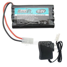 1 pc 9.6V 1800mAh NI-MH Rechargeable Battery Pack HyperPS + Charger US Stock