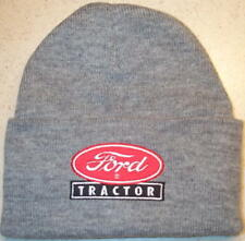 Ford Tractor Logo or Ford 8N Embroidered Beanie (4 colors)