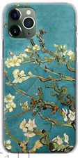 Van Gogh Blossoming tree soft case for iPhone 11 Pro Max XS 8 Samsung S20 Huawei