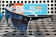 New Spy Optic FLYNN Sunglasses Matte Whitewall w/ Blue Spectra Happy Lenses