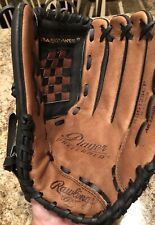 Rawlings All Leather Shell Baseball Glove 12.5 Rbg125Cp