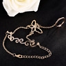 Crystal Vine Butterfly Bracelet Bangle Finger Ring Harness Hand Chain Jewellery