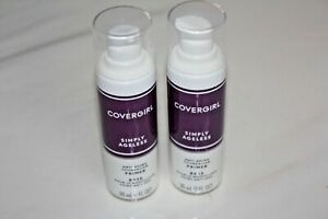2X Covergirl Simply Ageless Anti Aging Foundation PRIMER Makeup Base - NEW