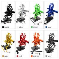 Fit Aprilia RSV4 RSV4RF 2009-2014 2010 2011 2012 CNC Rearset Footpegs Rear Set