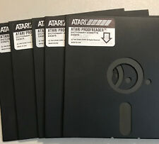 Atari EXCESS 5 1/4 DISKS 800/XL/XE 10 Disks NO SLEEVES WITH NOTCH
