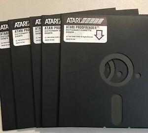 Atari EXCESS 5 1/4 DISKS 800/XL/XE 10 Disks NO SLEEVES WITH NOTCH