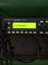MCS 2000 Motorola In Dash 2 Way UHF Radio with Mic Flashport Good Condition