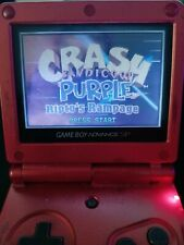 Crash Bandicoot Purple: Ripto's Rampage Nintendo Game Boy Advance, 2004 Tested