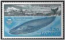 Timbre Faune marine Baleines Monaco 1372 ** lot 18981