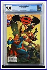 Superman Batman #15 CGC Graded 9.8 DC February 2005 White Pages Comic Book