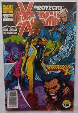 Comic Proyecto Exterminio, forum, Stan Lee ,Numero 7, Patrulla X,1992