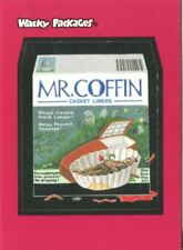 Wacky Packages 2004 Promo Card 1 of 3 Mr Coffin