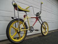 "Murray Desert Cat Custom Chopper Vintage Muscle Bike 20"" Bicycle,trakmaster rims"
