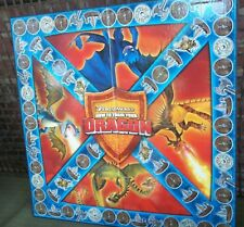 Mythical World Vikings Train Your Dragon Dreamworks Movie Board Game