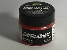 LUSH Bubble Gum Lip Scrub Care 0.8 oz vegan self-preserving BUBBLEGUM