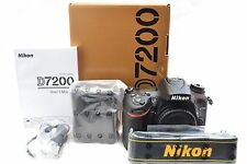 Nikon D7200 24.2MP Digital SLR Camera Body Only - 3 Year Warranty