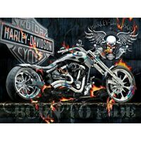 DIY Motorcycle 5D Full Drill Diamond Painting Embroidery Kits Home Art Decor