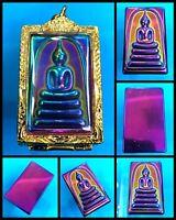 Phra Somdej Leklai 7 Color LP TOH Wat Phra Kaew Thai Amulet Buddha Pendant K1079
