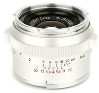 CARL ZEISS DISTAGON  f/4 35mm Lens, Contarex, chrome WIDE ANGLE LENS  GERMANY