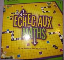 Jeu de société Echec aux Maths - Math Dash-Pour 2 à 8 joueurs-Learning Resources