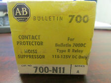 Allen Bradley 700 N11 Contact Protector Noise Suppressor Series A
