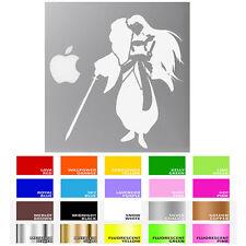 Multiple Color Inuyasha Sesshomaru Decal Sticker for Macbook Laptop Car Window