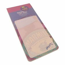 Robert Frederick Marmite Pastel Magnetic Shopping List Pad  - Marmite Design