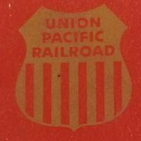 Union Pacific Railroad LRG Match Book NOS  Vintage  C. 1960's   -C-