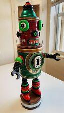 Rare Collectible Vintage Can Robot ART