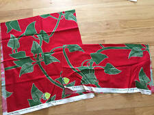 Marimekko IRMELI Cotton Fabric 2 Pcs OYJ SUOMI-Finland ANU LUHTANEN 2008