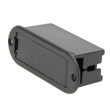 9V Battery ABS Cover Case Holder Box Case Compartment for Guitar Bass Black