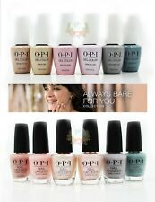 """OPI Gel + Nail Polish """"Always Bare For You"""" SPRING '19 Collection FULL 12pcs"""