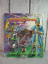 Britains toy soldiers Silver Knights of the Sword sealed package 4 figures NOS