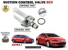 pour Opel Astra + GTC 1.7Cdti 2011- > Ventouse contrôle SOUPAPE SCV 55574126