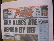 14/01/1995 Coventry Evening Telegraph The Pink: Main Headline Reads: Sky Blues A