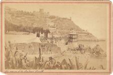 Nice Château de l'Anglais Photo E. Degand Vintage Albumine ca 1870
