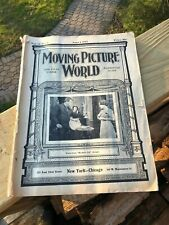 Magazine June 1912 Moving Picture World Exhibitores 90 Pages Edison Projector