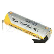Batteria 1,2V AA Stilo 1000mAh Ricaricabile NiCd 1,2 Volt con terminali a saldar