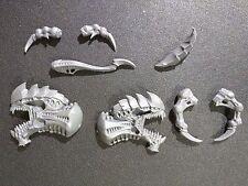 Warhammer 40k Tyranids Tyrannofex / Tervigon Small Head Bits