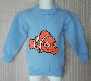 CHILDREN'S HAND-MADE PICTURE JUMPER TO FIT: AGE 1-2 YRS