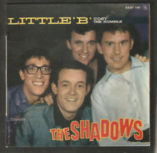 """THE SHADOWS,Little """"B"""" /Cosy/The Rumble.RARE FRENCH EP.Instrumental"""