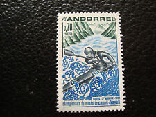 ANDORRE (francais) - timbre yvert et tellier n° 196 n** (A19) stamp andorra (A)