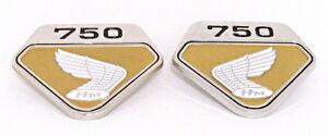 HONDA CB 750 Four K0 - Paire de Sigles OR pour caches latéraux