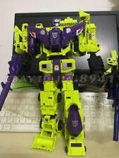 Devastator Transformers 6 In 1 Action Figure Engineering Truck Robot KO in Stock